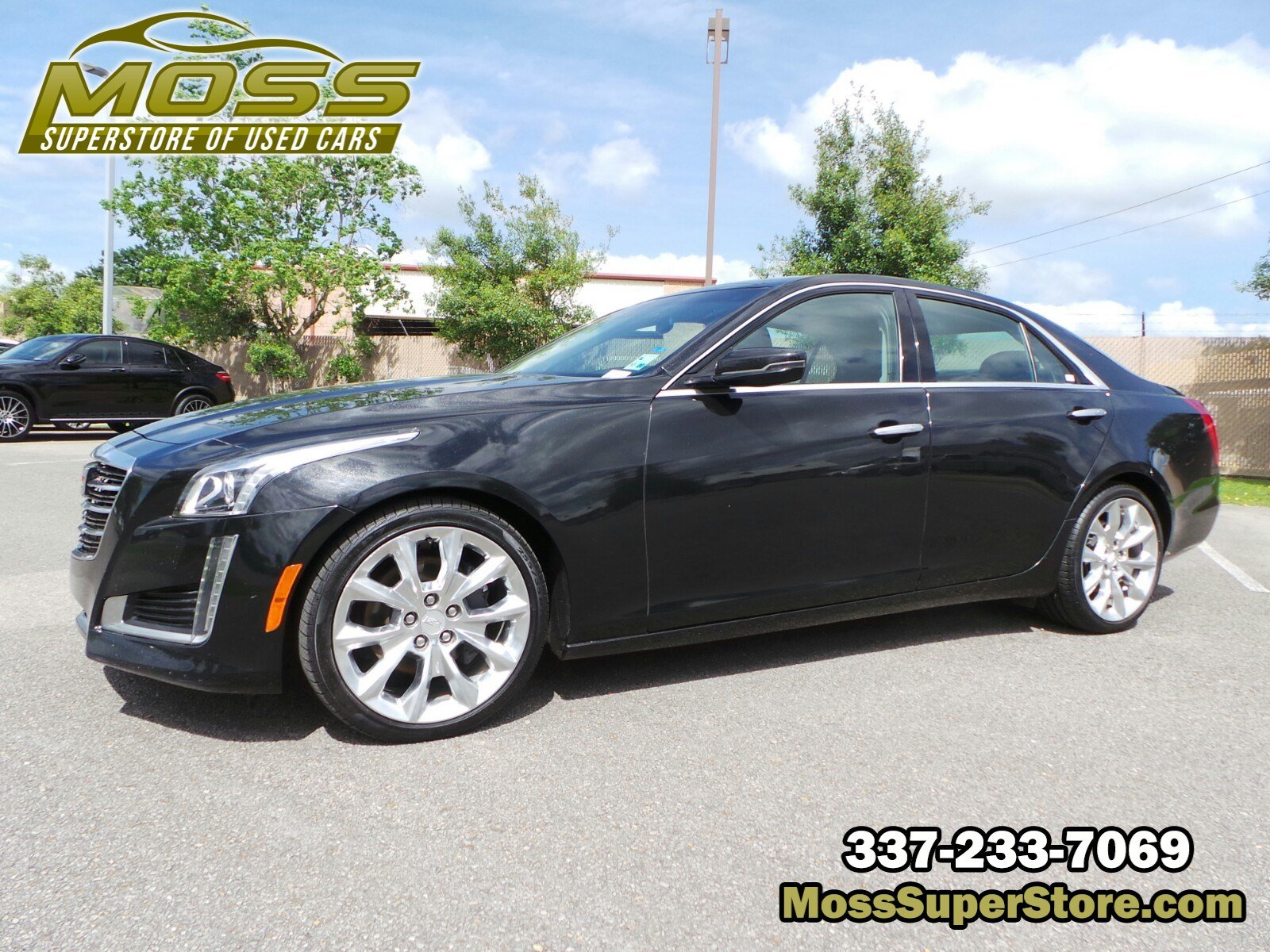 Pre-Owned 2015 Cadillac CTS Sedan Luxury RWD
