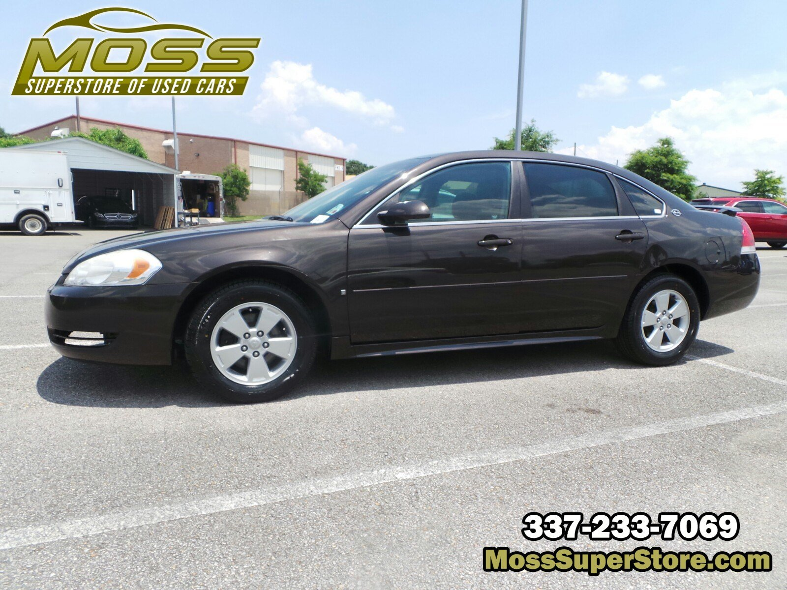 Pre-Owned 2009 Chevrolet Impala 3.5L LT