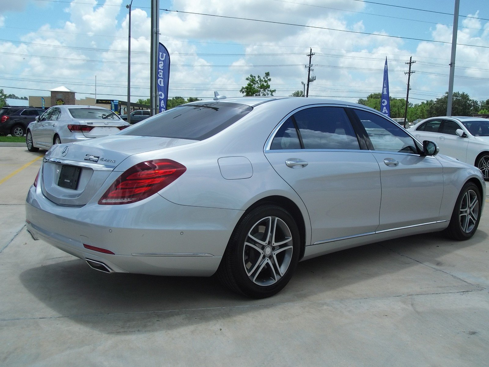 Pre-Owned 2016 Mercedes-Benz S-Class S 550